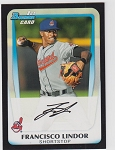 2011 Bowman Draft Francisco Lindor 1st Bowman