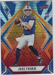 2020 Panini Phoenix fanatics exclusive Jake Fromm rookie fire burst refractor rc