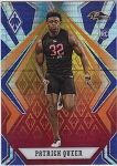 2020 Panini Phoenix fanatics exclusive Patrick Queen rookie fire burst refractor rc