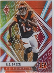 2020 Panini Phoenix fanatics exclusive A.J. Green fire burst refractor