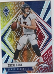 2020 Panini Phoenix fanatics exclusive Drew Lock fire burst refractor