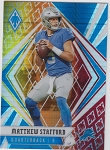 2020 Panini Phoenix fanatics exclusive Matthew Stafford fire burst refractor
