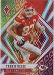 2020 Panini Phoenix fanatics exclusive Travis Kelce fire burst refractor