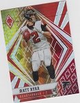 2020 Panini Phoenix fanatics exclusive Matt Ryan fire burst refractor