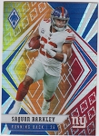 2020 Panini Phoenix fanatics exclusive Saquon Barkley fire burst refractor