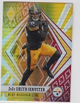 2020 Panini Phoenix fanatics exclusive Juju Smith-Schuster fire burst refractor