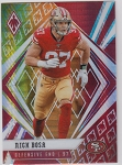 2020 Panini Phoenix fanatics exclusive Nick Bosa fire burst refractor