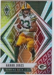 2020 Panini Phoenix fanatics exclusive Aaron Jones fire burst refractor