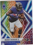 2020 Panini Phoenix fanatics exclusive Mark Ingram II fire burst refractor