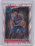 2018-19 Panini Donrus Optic Shock Shai Gilgeous-Alexander Rated Rookie rc