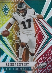 2020 Panini Phoenix fanatics exclusive Alshon Jeffery fire burst refractor