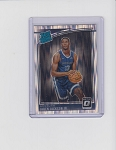 2018-19 Panini Donrus Optic Shock Jaren Jackson Jr. Rated Rookie rc
