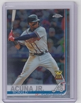 2019 Topps Chrome Ronald Acuna Jr.
