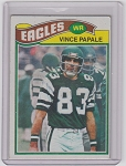 1977 Topps Chewing Gum Football Vince Papale