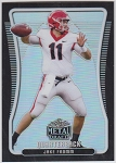 2020 Leaf Metal Draft Jake Fromm black refractor rookie rc /10