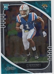 2020 Panini Absolute CJ Henderson rookie rc