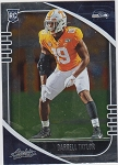 2020 Panini Absolute Darrell Taylor rookie rc