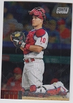 2020 Topps Stadium Club Chrome J.T Realmuto