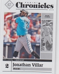 2020 Panini Chronicles Baseball Jonathan Villar Card