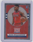 2019-2020 Panini Chronicles Hometown Heroes Zion Williamson RC