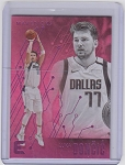 2019-2020 Panini Chronicles Essentials Basketball Luka Doncic Pink Foil