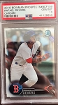 2016 Bowman Chrome Prospects Rafael Devers PSA 10 Gem Mint
