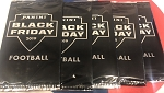 5x PACK LOT.  2019 Panini Black Friday FOOTBALL packs