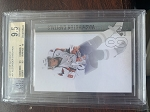 2010-11 SP Authentic Alex Ovechkin BGS Gem Mint 9.5