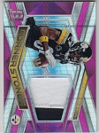2018 Panini Spectra Antonio Brown Pink Refractor 2 color patch /15