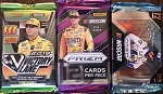 3- Panini Racing Pack lot.  2019 Victory lane / 2019 Prizm / 2018 Prizm