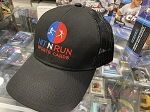 Hit N Run Sports Cards Embroidered Black Adjustable Hat.