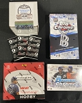 Baseball Mixer.  random teams  1- Ben Baller Topps Chrome / 1- Bowman Chrome HTA / 1- Prizm / 3x Bowman 1st edition packs / 1- Gold rush Baseball     List, Random and video done at Packwars.org