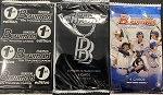 2020 Baller 3- Pack  lot.    1 pack each of 2020 Bowman Sapphire / 2020 Bowman 1st edition / 2020 Topps Chrome Ben Baller  ships sealed limit 2 per person at this price.