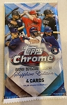 2020 Topps Chrome Update Sapphire Edition Factory Sealed Pack from a fresh box   SHIPPED SEALED