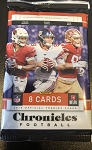 2019 Panini Chronicles Football Hobby Pack.  8 cards per pack