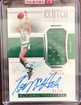 2018-19 Panini National Treasures Basketball Kevin McHale Clutch Factor Auto Patch  /99