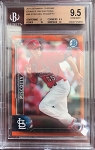 2016 Bowman Chrome Orange Refractor Stephen Piscotty RC BGS 9.5 Gem Mint