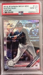 2019 Bowman Chrome Mega Box Refractor Austin Riley PSA 10 Gem Mint