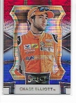 2017 Panini Select Chase Elliott RED WHITE BLUE pulsar refractor