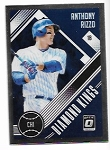 2018 Panini Optic Anthony Rizzo Diamond KIngs Insert card