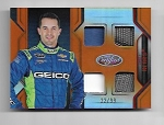 2018 Panini certified Casey Mears Quad Race used Relic card /99