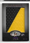 2009 topps Unique Ben Roethlisberger Jumbo Game worn 2 color Patch /10
