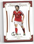2018 National Treasures Joe Allen Gold Parallel Card /10