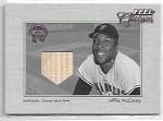 2001 Fleer feel the game classics Willie McCovey game used BAT