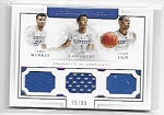 2016-17 Treasures Jamal Murray / Labissiere / Ulis triple Kentucky Jersey /99