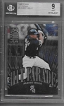 1998 Studio Albert Belle Hit Parade insert /5000 BGS 9 Mint