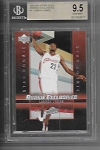 2003-04 Upper deck rookie exclusives Lebron James rc BGS 9.5 Gem mint