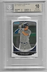 2013 Bowman Chrome Mini Edition Aaron Judge Prospect rc BGS 10 PRISTINE