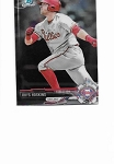 2017 Bowman Chrome mini edition Rhys Hoskins prospect rc