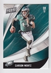 2018 Panini Black Friday Carson Wentz Card